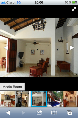 Propertyshelf Nicaragua MLS Listing Search on the Iphone 4 Picture Gallery
