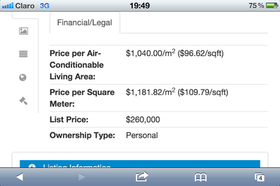 Propertyshelf Nicaragua Mls Llisting Search on the Iphone 4 Search