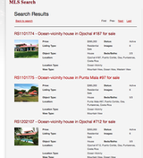 Nicaragua MLS Property Search & Listing integration into any website!